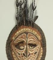 精霊の仮面(パプアニューギニア)