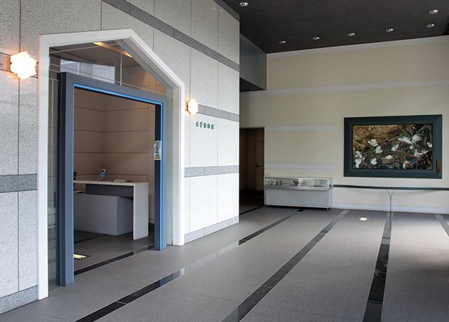 光葉博物館展示室(入口)