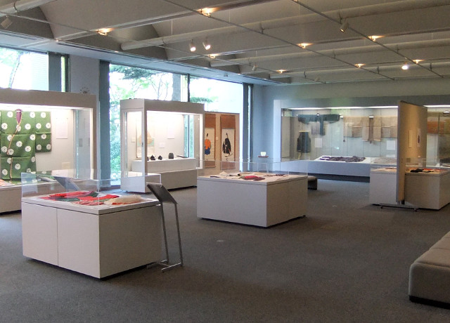 光葉博物館展示室(内部)